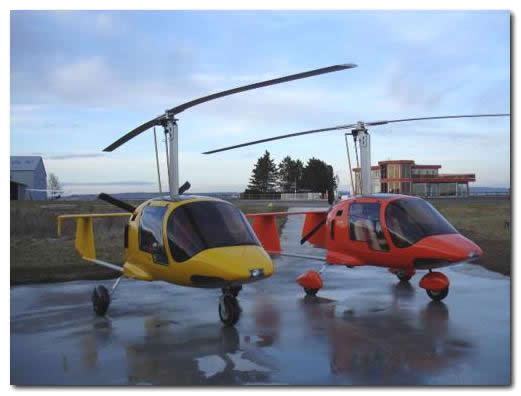 Xenon 2 - Gyrocopter specially re-equipped for India